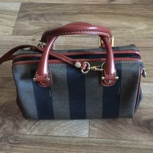 Authentic vintage Fendi Crossbody Handbag!